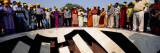 Tourists Standing at an Observatory, Jantar Mantar, Jaipur, Rajasthan, India Wall Decal by  Panoramic Images