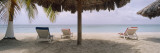 Lounge Chairs on 7-Mile Beach, Negril, Jamaica Wall Decal by  Panoramic Images
