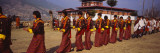 Dancers Parading in a Traditional Festival Ground, Paro, Bhutan Wall Decal by  Panoramic Images