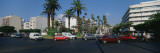 Traffic on the Street, Boulevard Moulay Youseef, Casablanca, Morocco Wall Decal by  Panoramic Images