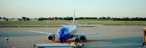 Airplane at the Airport, Midway Airport, Chicago, Illinois, USA Wall Decal by  Panoramic Images
