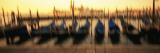 Gondolas in a Canal, Venice, Italy Wall Decal by  Panoramic Images