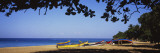 Boats on the Beach, Aguadilla, Puerto Rico Wall Decal by  Panoramic Images