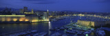 Boats Docked at a Port, Old Port, Marseille, Bouches-Du-Rhone, Provence-Alpes-Cote Daze, France Wall Decal by  Panoramic Images