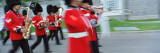 Guards Marching with Musical Instrument, Changing of the Guard, Quebec City, Quebec, Canada Wall Decal by  Panoramic Images