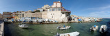 Boats in the Sea, the Port of Malmousque, Bouches-Du-Rhone District, Marseille, Provence, France Wall Decal by  Panoramic Images