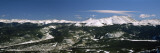 City in a Valley, Breckenridge, Colorado, USA Wall Decal by Panoramic Images 