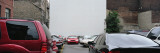 Cars Parked in a Parking Lot, Montreal, Quebec, Canada Wall Decal by  Panoramic Images