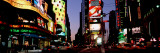 Traffic on a Road, Times Square, New York, USA Wall Decal by Panoramic Images 