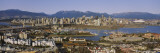 Aerial View of Vancouver, British Columbia, Canada Wall Decal by  Panoramic Images