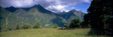 Clouds over a Mountain Range, Blenio Valley, Ticino, Switzerland Wall Decal by  Panoramic Images