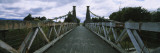 Clifden Suspension Bridge, Waiau River, Clifden, South Island, New Zealand Wall Decal by  Panoramic Images