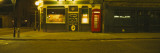 Telephone Booth Outside a Pub, Brazen Head, London, England Wall Decal by Panoramic Images