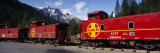 Santa Fe Railroad, Shasta-Trinity National Forest, California, USA Wall Decal by Panoramic Images