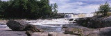 Agers Falls, Moose River, Adirondack Mountains, New York, USA Wall Decal by  Panoramic Images