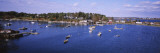 Boats in Harpswell Cove, Maine, USA Wall Decal by  Panoramic Images