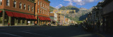 Street Through a Town, Telluride, Colorado, USA Wall Decal by  Panoramic Images