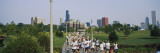 Golden Mile, One Mile Kids Run, Chicago, Illinois, USA Wall Decal by  Panoramic Images