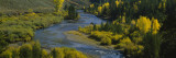 Blue River, Silverthorne, Colorado, USA Wall Decal by  Panoramic Images