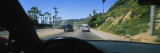 Cars Moving on the Road, Pacific Coast Highway, Santa Monica, California, USA Wall Decal by  Panoramic Images