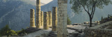 Ruined Columns, Temple of Apollo, Delphi, Greece Wall Decal by  Panoramic Images