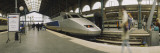 Bullet Train at a Railroad Station, Paris, France Wall Decal by  Panoramic Images
