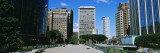 Skyscrapers in Riverfront Plaza, Hartford, Connecticut, USA Wall Decal by Panoramic Images