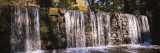 Waterfall in a Forest, Cedarock Park, Alamance County, North Carolina, USA Wall Decal by  Panoramic Images