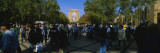 People at a University Campus, University of Notre Dame, South Bend, Indiana, USA Wall Decal by  Panoramic Images