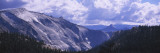 Clouds over a Mountain Range, Yosemite National Park, California, USA Wall Decal by  Panoramic Images