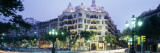 Facade of a Building, La Pedrera, Barcelona, Spain Wall Decal by  Panoramic Images