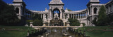 Fountain in Front of a Palace, Longchamp Palace, Marseille, France Wall Decal by  Panoramic Images