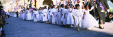 Girls Walking in a Good Friday Procession, San Miguel de Allende, Guanajuato, Mexico Wall Decal by  Panoramic Images