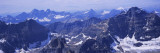 Aerial View of Mt Temple, Banff National Park, Alberta, Canada Wall Decal by  Panoramic Images