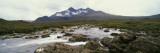 River Sligachan, Distant Mountain in Mist, Glen Sligachan, Isle of Skye, Scotland Wall Decal by  Panoramic Images