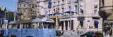 Cable Car in Front of Royal Dramatic Theatre, Strandvagen, Ostermalms, Stockholm, Sweden Wall Decal by  Panoramic Images