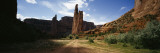 Rock Formations on a Landscape, Spider Rock, Canyon de Chelly, Arizona, USA Wall Decal by  Panoramic Images