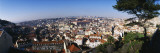 Aerial View of Lisbon, Portugal Wall Decal by  Panoramic Images
