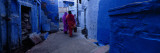Two Women Walking on the Street, Jodhpur, Rajasthan, India Wall Decal by  Panoramic Images