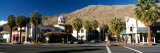 Buildings at the Roadside, Palm Springs, Riverside County, California, USA Wall Decal by  Panoramic Images