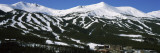 Ski Resorts in Front of a Mountain Range, Breckenridge, Summit County, Colorado, USA Wall Decal by  Panoramic Images