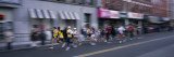 People Running in New York City Marathon, Manhattan Avenue, Greenpoint, Brooklyn, New York City Wall Decal by  Panoramic Images