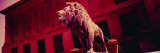 Lion Statue in Front of an Art Museum, Art Institute of Chicago, Chicago, Illinois, USA Wall Decal by  Panoramic Images