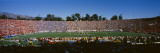High Angle View of Spectators in a Stadium, Rose Bowl Stadium, Pasadena, Los Angeles County Wall Decal by  Panoramic Images