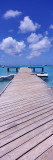Boats Moored at a Pier, Sandy Ground, Anguilla Wall Decal by  Panoramic Images