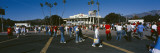 Group of People Walking Outside a Stadium, Rose Bowl Stadium, Pasadena, Los Angeles County Wall Decal by  Panoramic Images