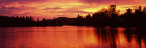 Lake at Sunset, Vermont, USA Wall Decal by  Panoramic Images