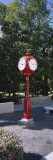 Clock in a Park, Indiana University, Bloomington, Monroe County, Indiana, USA Mode (wallstickers) af Panoramic Images