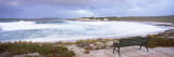 View of a Bench on the Beach, Salmon Beach, Esperance, Western Australia, Australia Wall Decal by Panoramic Images