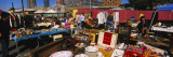 Group of People in a Flea Market, Hell's Kitchen, Manhattan, New York City, New York State, USA Wall Decal by  Panoramic Images